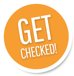 Get Checked Stamp